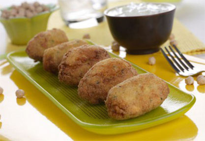 Falafel, croquetas de garbanzos