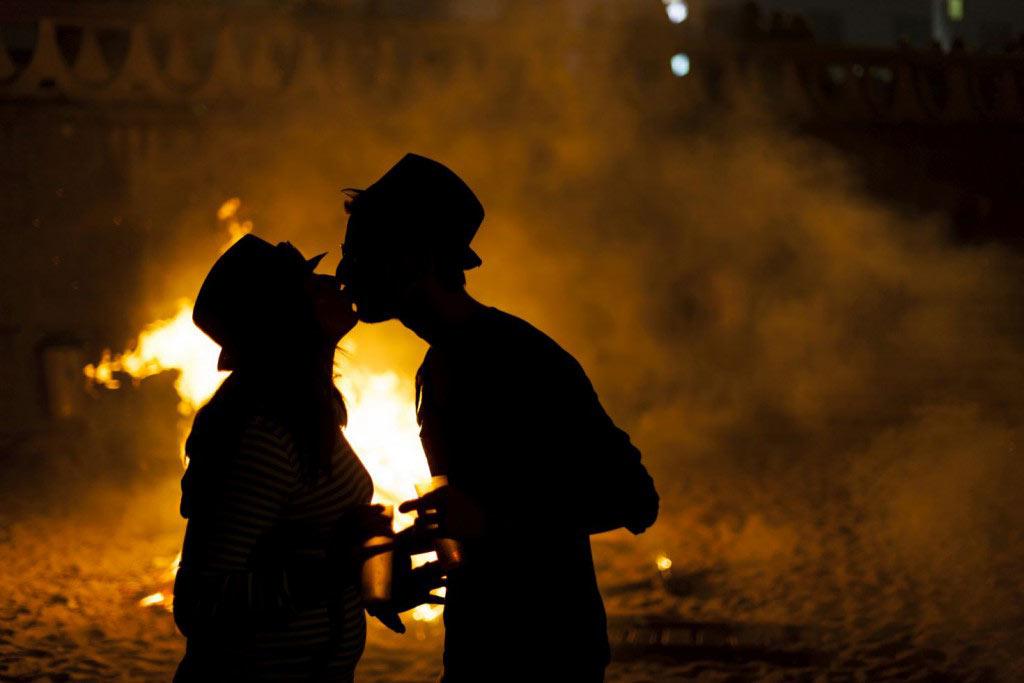 Fiesta de San Juan Bautista, la noche de las hogueras | HCMN