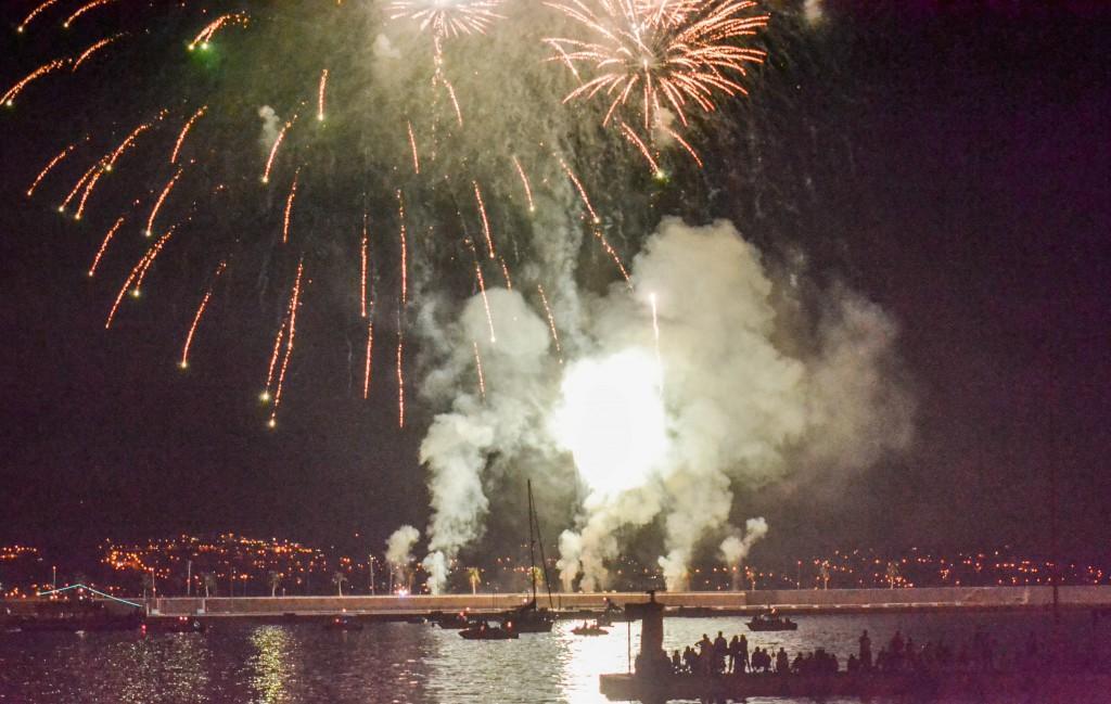 Fuegos Artificiales - Feria de Málaga