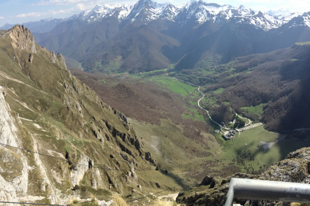 Teleférico de Fuente Dé - Vista superior