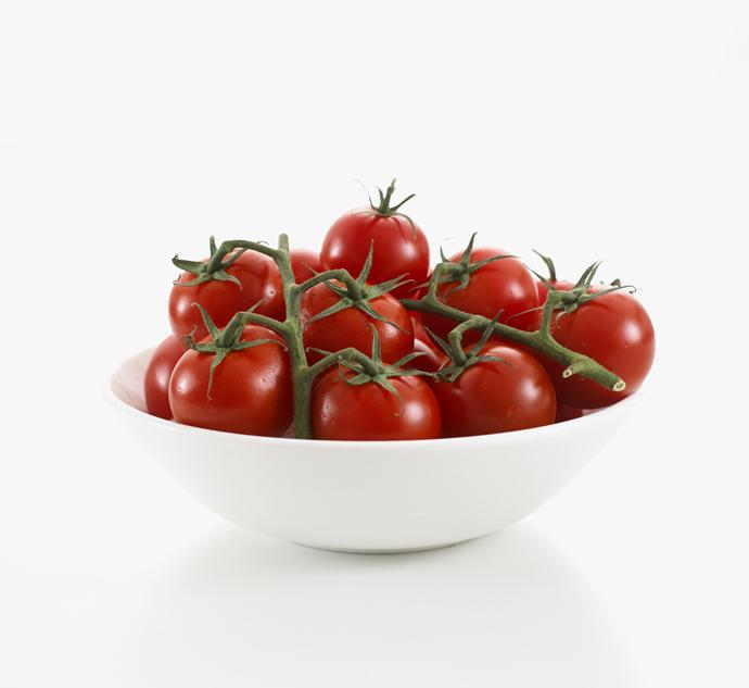 Tomates en plato