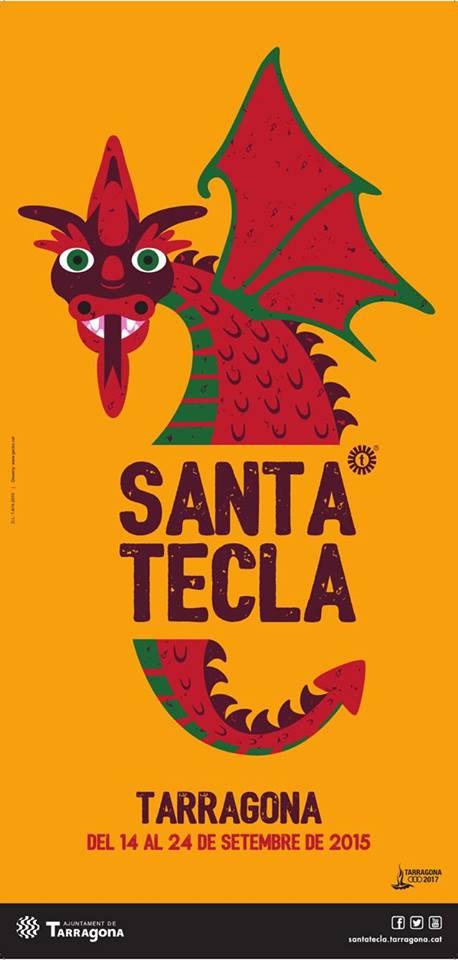 Cartel Santa Tecla 2015