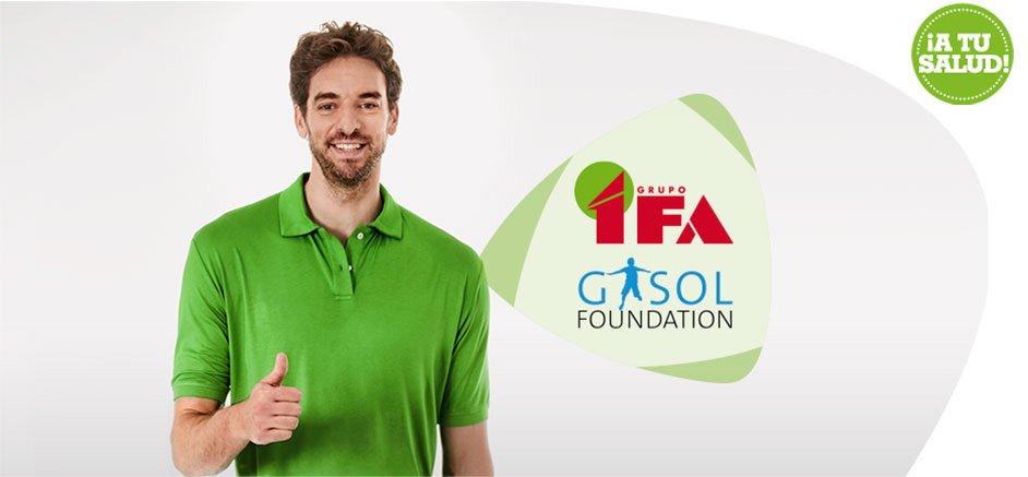 COLABORACIÓN GRUPO IFA Y FUNDACIÓN GASOL