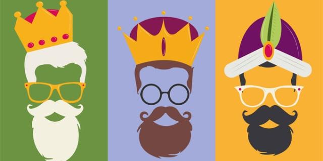 reyes magos hipster