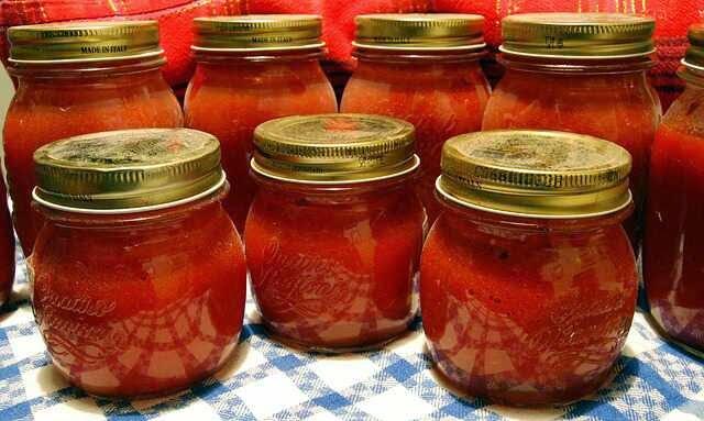 Consejos para comprar verduras y hortalizas. Conserva de tomates al baño maría