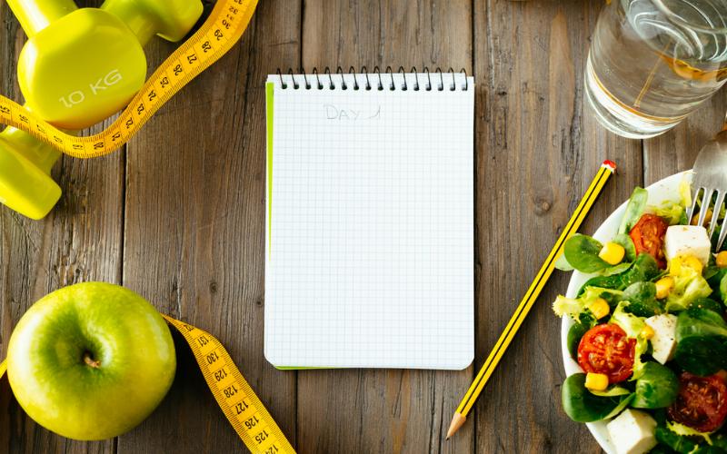 Contando calorías y a lo loco