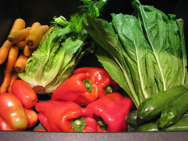 frutas y verduras, básicos si practicas deporte en verano