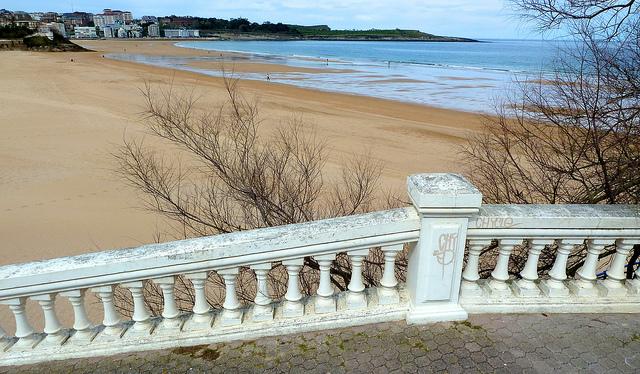 Los baños de ola en Santander | HCMN