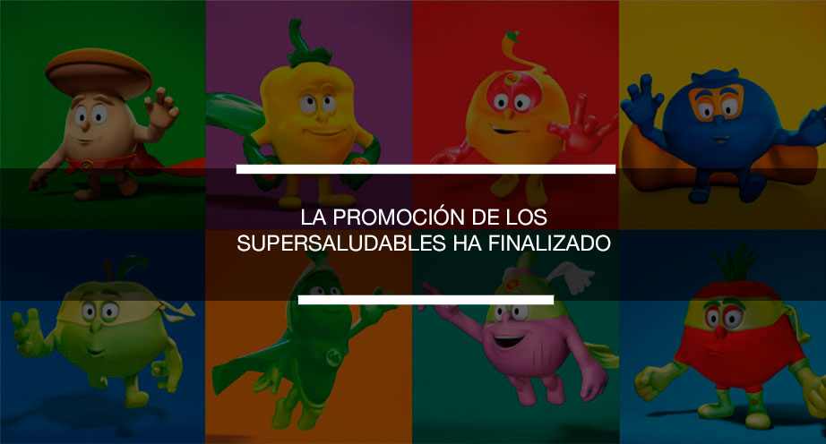 SIGUE JUGANDO CON LOS SUPERSALUDABLES