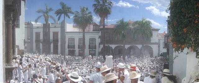 Fiesta de los Indianos en Santa Cruz de La Palma | HCMN
