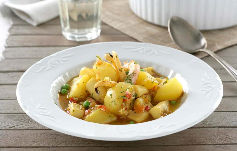 Patatas marineras