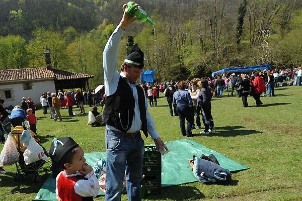 Fiesta del cordero en Asturias 2