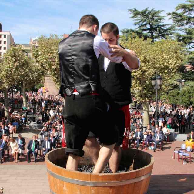 Zurracapote y vino en San Mateo | HCMN