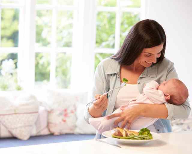 Buena alimentación durante el embarazo | HCMN