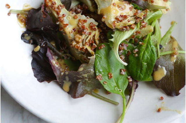 ensalada templada | HCMN