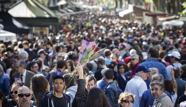 Todo sobre el día de Sant Jordi en Barcelona | HCMN