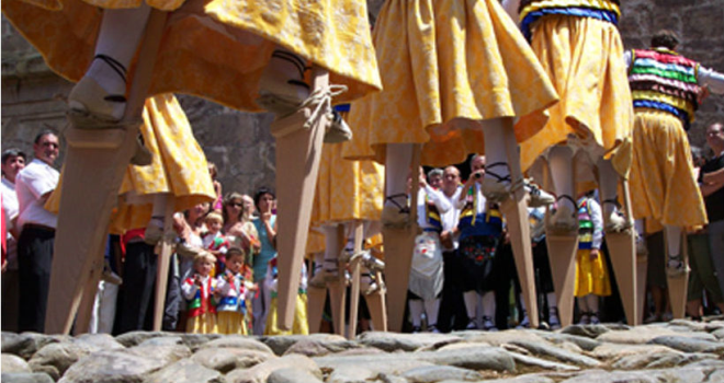 Danza de los zancos en honor a Santa María Magdalena | HCMN