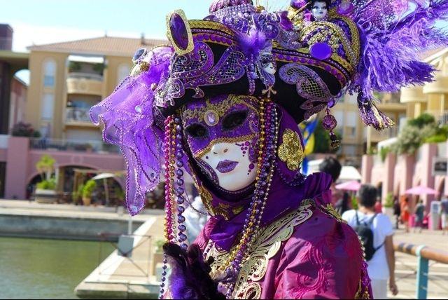 Máscara de Los mejores carnavales de España | HCMN