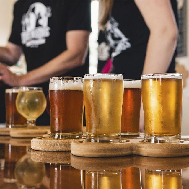 cerveza lager cerveza ale