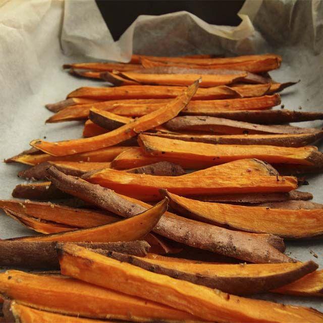 chips vegetales de batata y calabaza